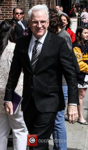 Steve Martin - A host of stars were snapped outside the Ed Sullivan Theater ahead of the last 'Late Show...