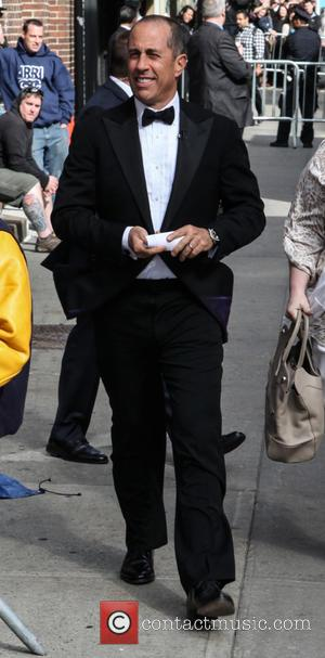 Jerry Seinfeld - A host of stars were snapped outside the Ed Sullivan Theater ahead of the last 'Late Show...