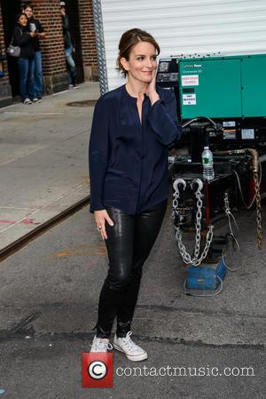 Tina Fey - A host of stars were snapped outside the Ed Sullivan Theater ahead of the last 'Late Show...