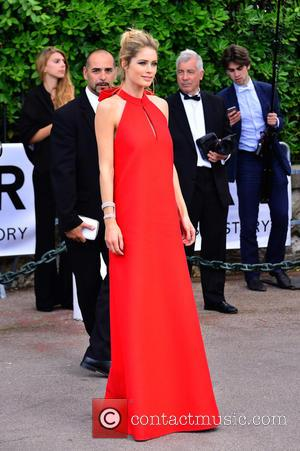 Doutzen Kroes - 68th Cannes Film Festival - A variety of celebrities were photographed as they arrived to amfAR's Cinema...