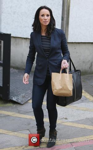 Andrea McLean - Andrea McLean outside ITV Studios - London, United Kingdom - Thursday 21st May 2015