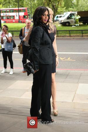 Shaznay Lewis and Nicole Appleton - Ivor Novello Awards 2015 held at Grosvenor House Hotel at Grosvenor House - London,...
