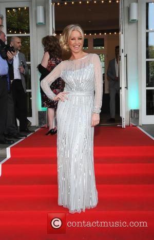 Denise Van Outen - The Ben Cohen StandUp Foundation dinner - Arrivals at Hurlingham Club - London, United Kingdom -...