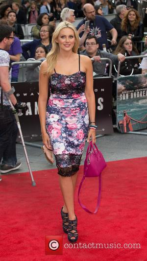 Stephanie Pratt - The World Premiere of 'San Andreas' held at Odeon Leicester Square - Arrivals at Leicester Square, Odeon...