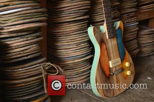 Guitars Made Out Of and Old Skateboards