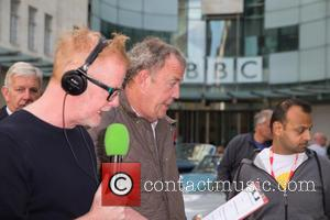 Jeremy Clarkson and Chris Evans - Celebrities at the BBC Studios - Jeremy Clarkson, He was appearing on the Chris...