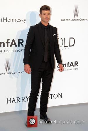 Robin Thicke - 68th Cannes Film Festival - amfAR's Cinema Against Aids Gala at Hotel du Cap-Eden-Roc in Antibes at...