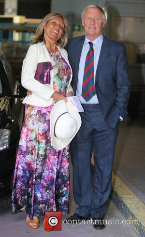 Chris Tarrant and Jane Bird - Chris Tarrant outside ITV Studios - London, United Kingdom - Thursday 21st May 2015