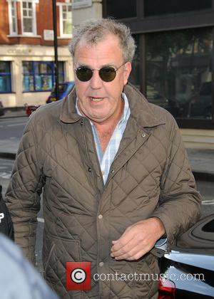 Jeremy Clarkson - Jeremy Clarkson arrives at the BBC Radio 2 studios - London, United Kingdom - Thursday 21st May...
