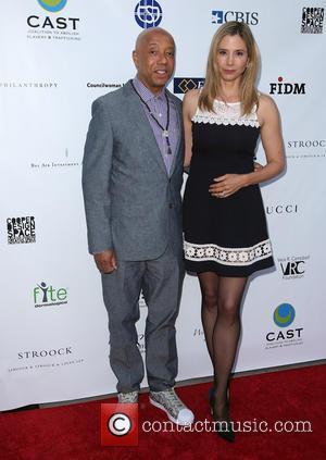 Russell Simmons and Mira Sorvino