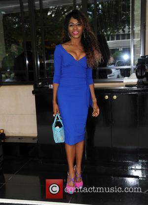 Sinitta - Afternoon Tea Arrivals at The Dorchester in aid of The Charity Shooting Star Chase - London, United Kingdom...