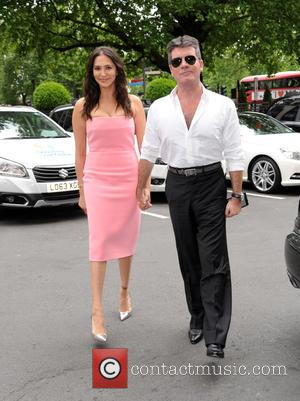 Lauren Silverman Simon Cowell - Afternoon Tea Arrivals at The Dorchester in aid of The Charity Shooting Star Chase -...