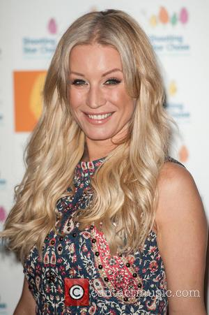 Denise Van Outen - Afternoon Tea at the Dorchester hosted by Simon Cowell in aid of Shooting Star Chase, a...