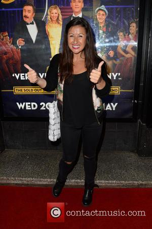 Hayley Tamaddon - 'Dirty Rotten Scoundrels' press night at the Manchester Opera House - Manchester, United Kingdom - Friday 22nd...