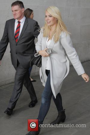 holly willoughby - Celebrities leaving the BBC after joining Fearne Cotton on her last show as presenter - London, United...