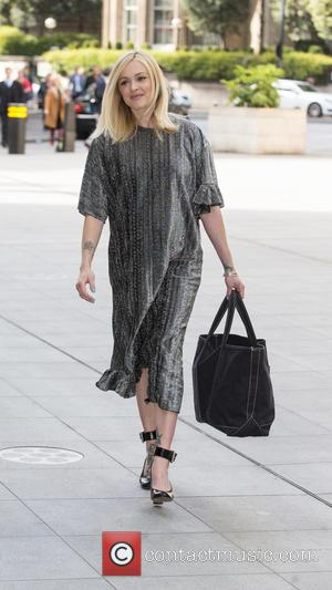 Fearne Cotton - Fearne Cotton arriving at the BBC Radio 1 studios on her last day as presenter of Live...