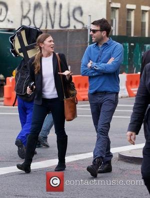 Zachary Quinto - Zachary Quinto spotted out in the East Village with a friend - New York City, New York,...
