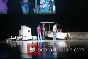 Jeremy Clarkson, Mark Hammond and Richard May - Clarkson, Hammond and May live, from the Odyssey Arena in Belfast -...