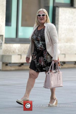 Vanessa Feltz - Celebrities leaving the BBC after joining Fearne Cotton on her last show as presenter - London, United...