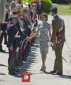 King Felipe of Spain and Queen Letizia of Spain - King Felipe VI and Queen Letizia of Spain attend the...