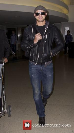 Kellan Lutz - Kellan Lutz arrives at Los Angeles International (LAX) airport at lax - Los Angeles, California, United States...