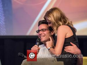 Tricia Helfer and James Callis - FedCon 24 -  Europe's big SciFi convention held at Hotel Maritim - Day...