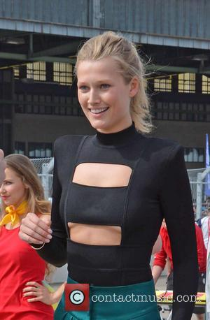 Toni Garrn - Formula E Championship (ePrix) at Flughafen Tempelhof airport - Berlin, Germany - Saturday 23rd May 2015