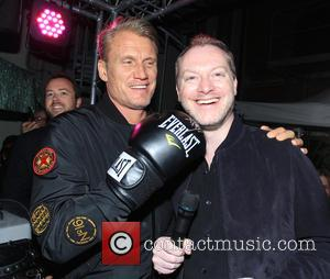 Dolph Lundgren and Maximillion Cooper - Gumball 3000 Day 1 - night club in Stockholm - Stockholm, Sweden - Saturday...