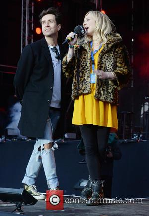 Fearne Cotton and Nick Grimshaw - Radio 1's Big Weekend - Day 1 - Norwich, United Kingdom - Saturday 23rd...