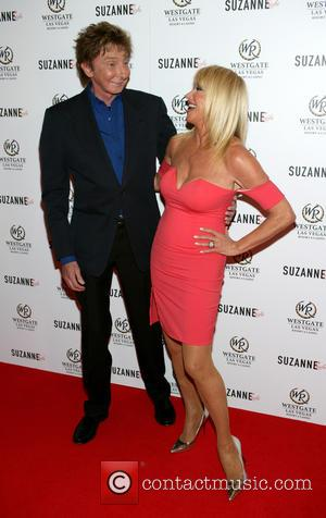 Barry Manilow and Suzanne Somers