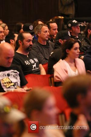 Tony Hawk - Gumball 3000 Drivers briefing by Maximillion Cooper at The Grand Hotel, Stockholm - Stockholm, Sweden - Sunday...