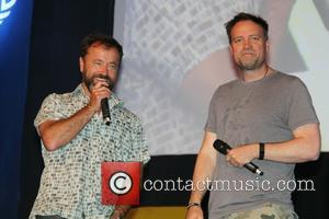 David Nykl and David Hewlett