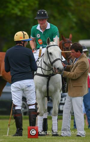Prince Harry - Prince Harry takes part in the Jerudong Trophy at Cirencester Park Polo Club at Cirencester Park Polo...