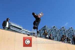 Tony Hawk - Gumball 3000 Rally - Olso to Copenhagen - Day 2 - Oslo, Norway - Monday 25th May...