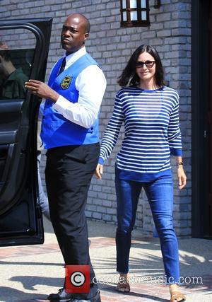 Courteney Cox - Celebrities attend Joel Silver's Memorial Day Party at Malibu CA - Los Angeles, California, United States -...