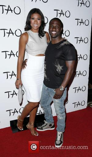 Aniko Parrish and Kevin Hart