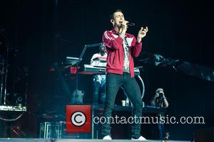 Adam Levine and Maroon 5 - Maroon 5 on the first date of the UK leg of their world tour...