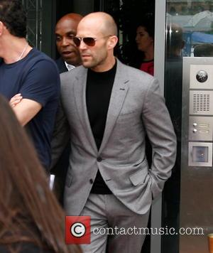 Jason Statham - Spy: Susan Cooper Undercover cast members outside SAT.1 TV studios - Berlin, Germany - Tuesday 26th May...