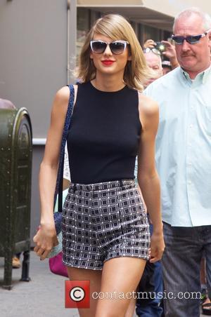 Taylor Swift Takes A Coachella Break To Attend Friend's Wedding