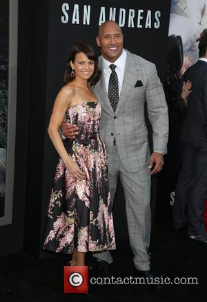 Carla Gugino and Dwayne 'The Rock' Johnson