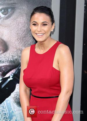 Emmanuelle Chriqui - The Warner Bros. Pictures world premiere of 'San Andreas' held at the TCL Chinese Theatre - Arrivals...