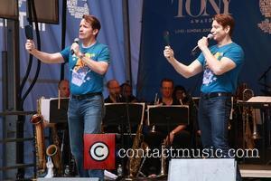 James Moye and Andy Karl