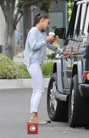 Cara Santana - Cara Santana, wearing no make-up, leaving Alfred Coffee in Beverly Hills - Beverly Hills, California, United States...