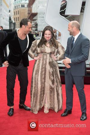 Jude Law, Melissa McCarthy and Jason Statham - 'Spy' European Premiere held at the Odeon Leicester Square - Arrivals. at...