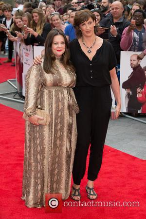 Melissa McCarthy and Miranda Hart - The European Premiere of 'Spy' held at Odeon Leicester Square - Arrivals at Leicester...
