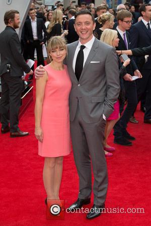Peter Serafinowicz and Sarah Alexander - The European Premiere of 'Spy' held at Odeon Leicester Square - Arrivals at Leicester...