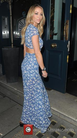 Lauren Pope - Celebrities attend Look of the Day collection launch at Library Club - Outside Arrivals - London, United...