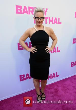 Rachael Harris - Premiere of DirecTV's 'Barely Lethal' at ArcLight Hollywood - Arrivals at ArcLight Hollywood - Hollywood, California, United...