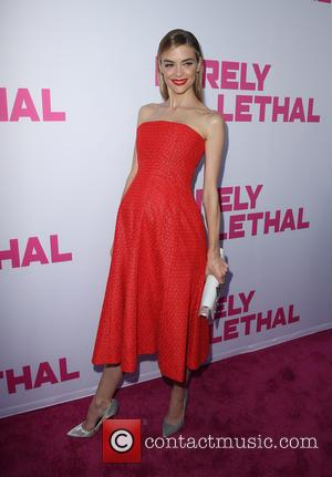 Jaime King - Premiere of DirecTV's 'Barely Lethal' at ArcLight Hollywood - Arrivals at ArcLight Hollywood - Hollywood, California, United...