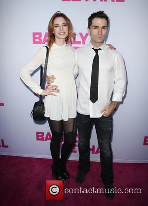 Chloe Dykstra and Sam Witwer